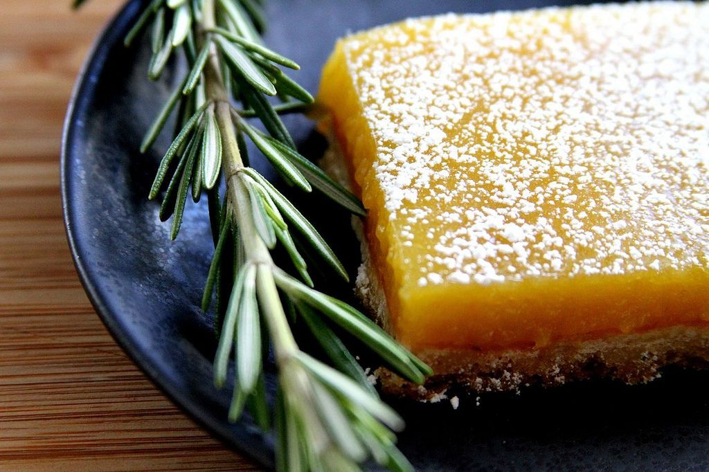 Meyer Lemon Bar
