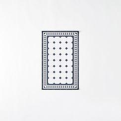 Parisian Vinyl Floor Mat