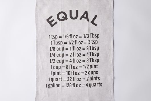"""Equal"" Tea Towel"