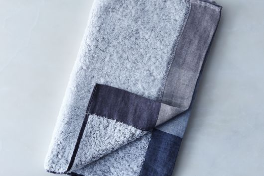 Soft Linen & Cotton Colorblock Towels