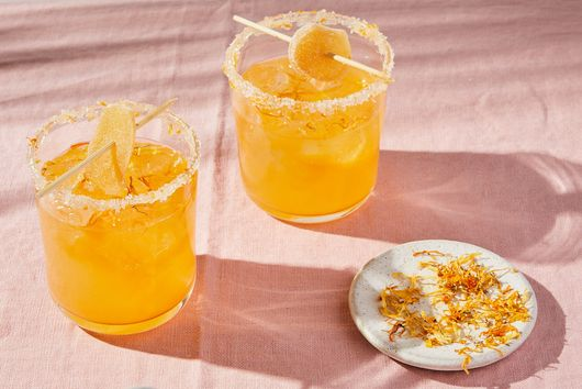 Smoked Mandarin & Ginger Paloma by Chef Claudette Zepeda