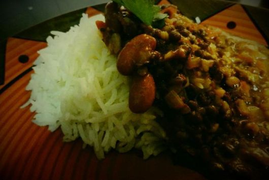 Dal Makhani - Red Kidney Beans and Lentils