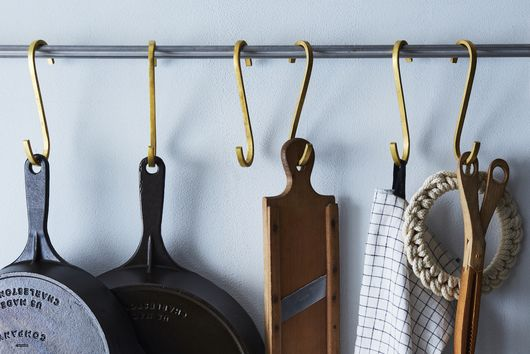 18 Storage Hooks That Make Clutter Look Good
