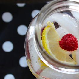 Raspberry Lemon Infused Water