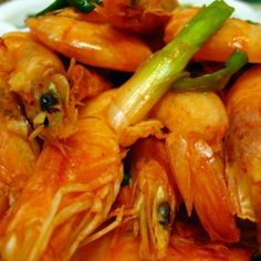 Tom Rang Muoi  ...   Salt & Pepper Shrimp