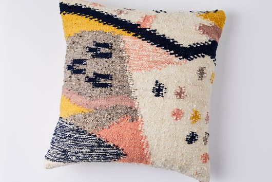 Cartographer Graphic Wool Pillow