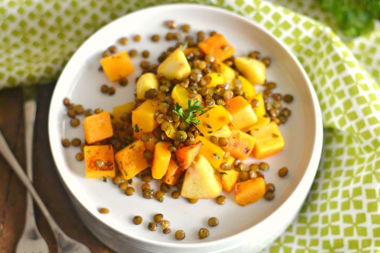Harvest Skillet Lentils