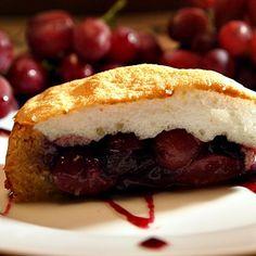 Layered Grape Cake