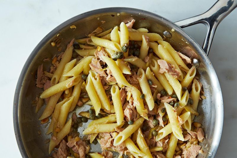 Zuni's Pasta with Preserved Tuna
