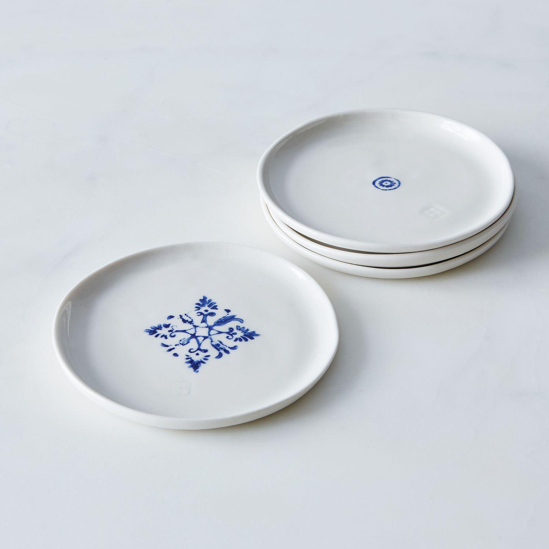 Porcelain Dessert Plates Set Of 4 On Food52