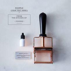 Custom Copper Self-Inking Stamp