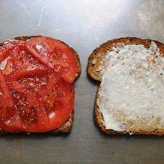 My Best Tomato Sandwich