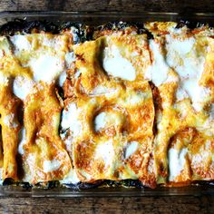 Tuck Leafy Greens into Lasagna For Next-Level Dinner