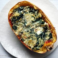 Take a Spaghetti Squash Boat to Warm, Cheesy Nirvana