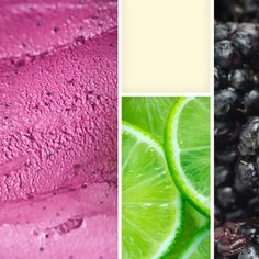 Blackberry Lime Buttermilk Sherbet