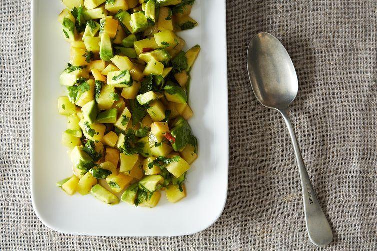 Plum Avocado Salad on Food52