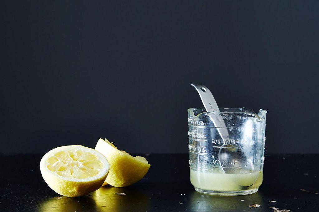 Lemon juice Cooking Conversions