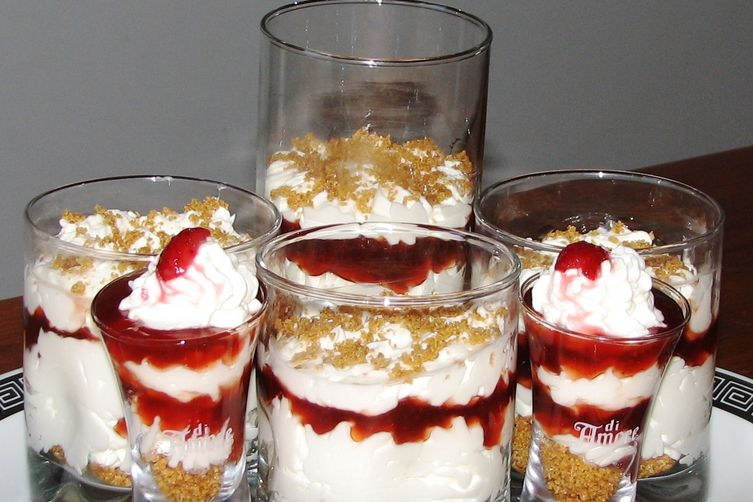Cherry Cheesecake Verrines