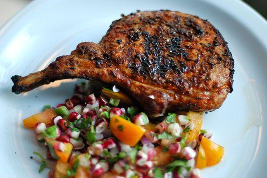 Cumin-Crusted Pork Loin Chop