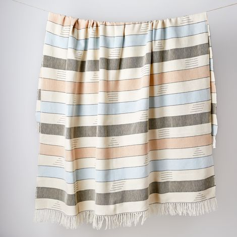 Coastal Cotton Throw