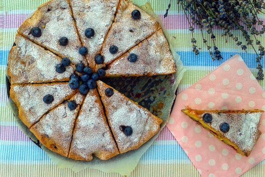 Blubbery&Lavender Cake