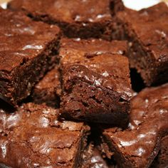 Sticky Chocolate Brownies