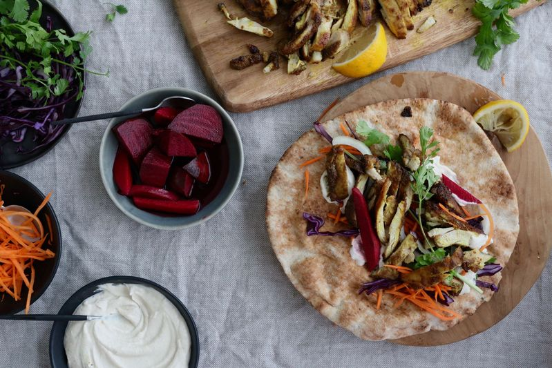 How To Make Chicken Shawarma At Home