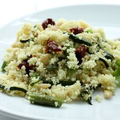 Spring Vegetable Couscous Salad