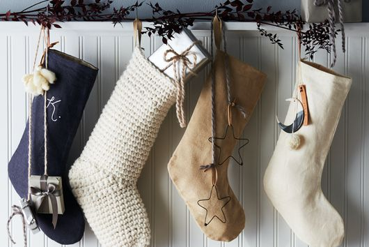 How to Make a Christmas Stocking From Literally Any Fabric You Have