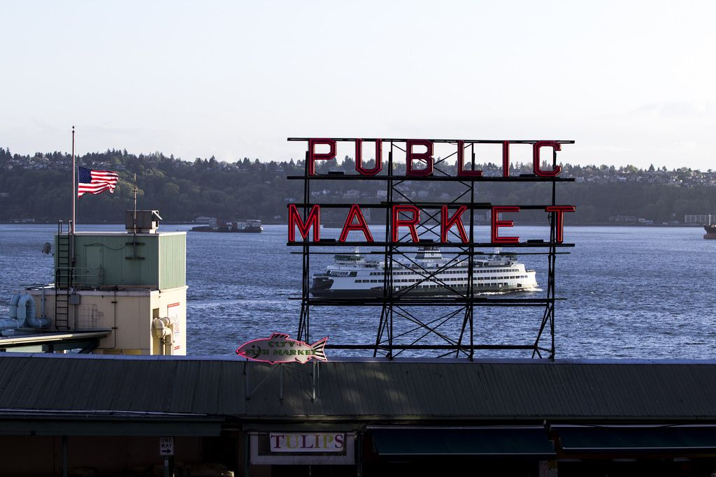 Pike Place Market, via Tiffany Von Arnim