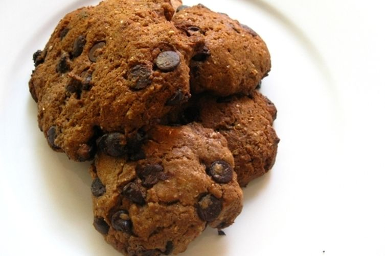 Chocolate Chip, Hazelnut Chocolate and Cream cheese Cookies