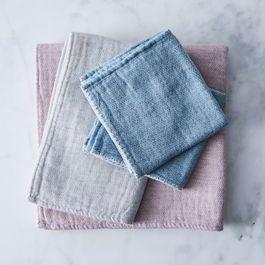 Claire Organic Cotton Japanese Bath Towels