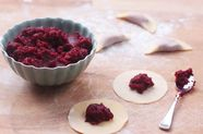 Casunziei all'ampezzana (Beet Ravioli with Poppy Seeds)