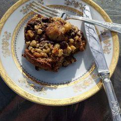 Sinful Chocolate, Hazelnut & Cinnamon French Toast Bake
