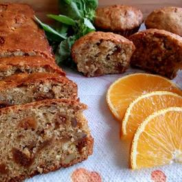 Figgie, Nutty, Cheese Quick Bread or Muffins