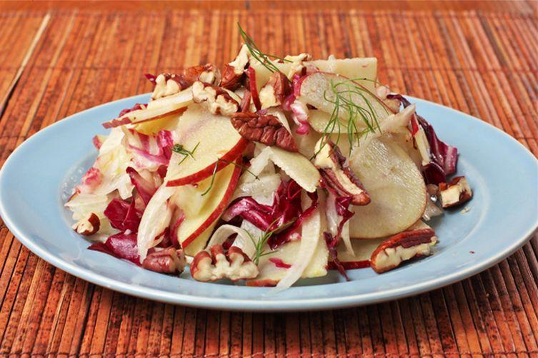 Fennel, Radicchio and Apple Salad