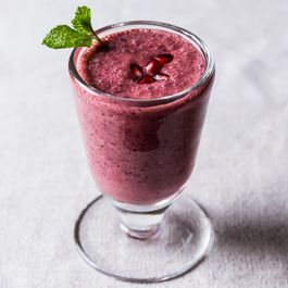 Triple Pomegranate Smoothie