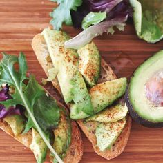 Sweet & Spicy Avocado Toast