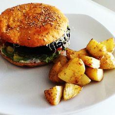Sinless Portabella Burger