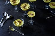 Latte Who? Meet the Golden Milk Panna Cotta