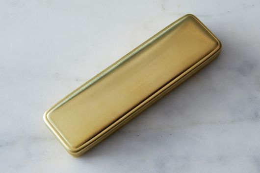 Japanese All-Brass Pen Case