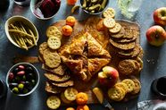 Baked Brie Wants to Party with Pepper Jelly & Pecans