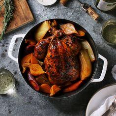 One-Pot Roast Chicken a la Julia Child