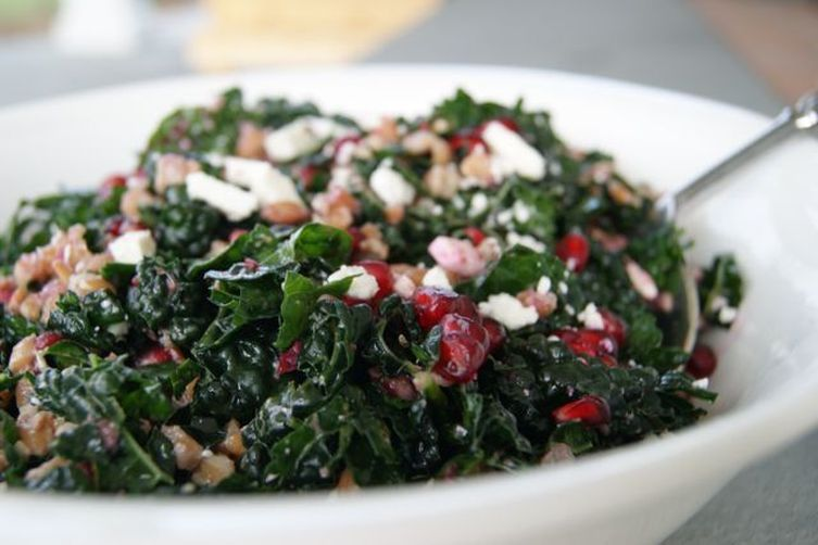 """Spanking the Pomegranate"" Holiday Salad"