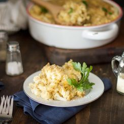 Best Cauli Mac and Cheese