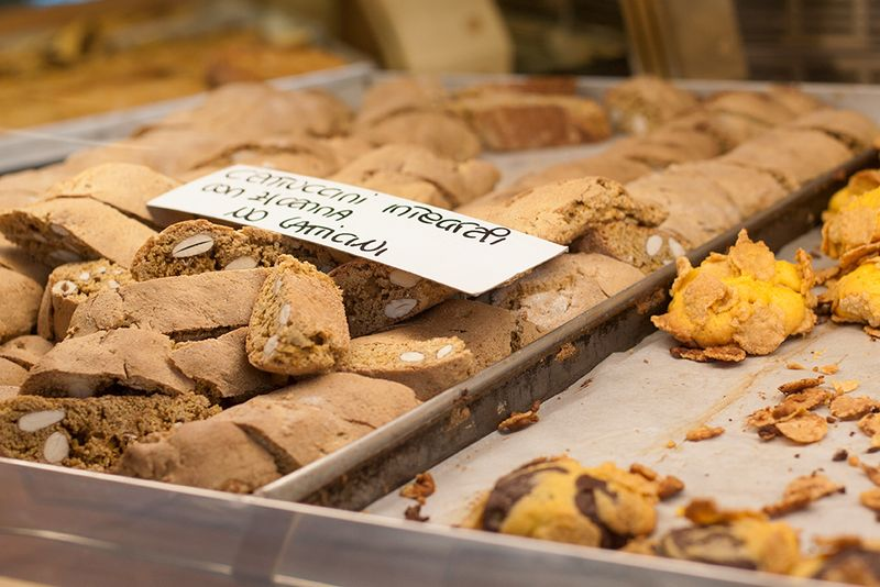 Biscotti at the bakery.