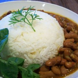 Indian Spicy Pinto Bean Curry (Rajma)