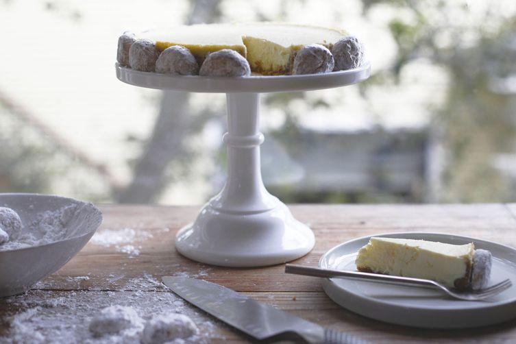 Lemon Goat Cheese Cheesecake Recipe on Food52