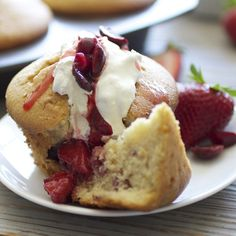 Fruit Cupcake aka Breakfast of Champions