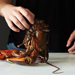 You Learned This Lobster Cooking Trick in Yoga Class